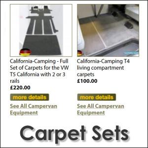 VW California Carpets