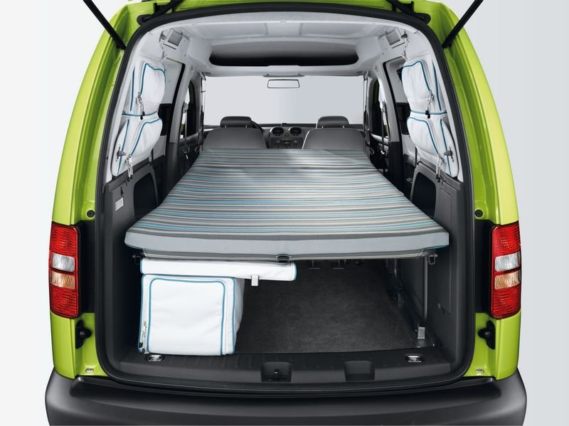 the new caddy camper the vw california. Black Bedroom Furniture Sets. Home Design Ideas