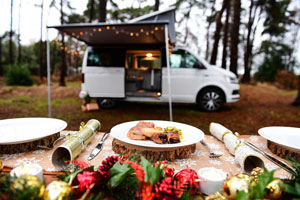 Snow place like home – Christmas in a VW California