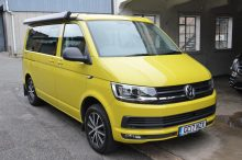 2017 VW California Beach T6 Eu6 2.0 150 PS Tdi 7 Speed Auto - Grape Yellow